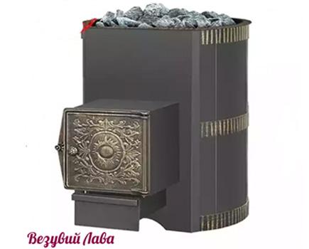 Печь для бани и сауны Везувий Лава 22 ДТ-4 (стальная)