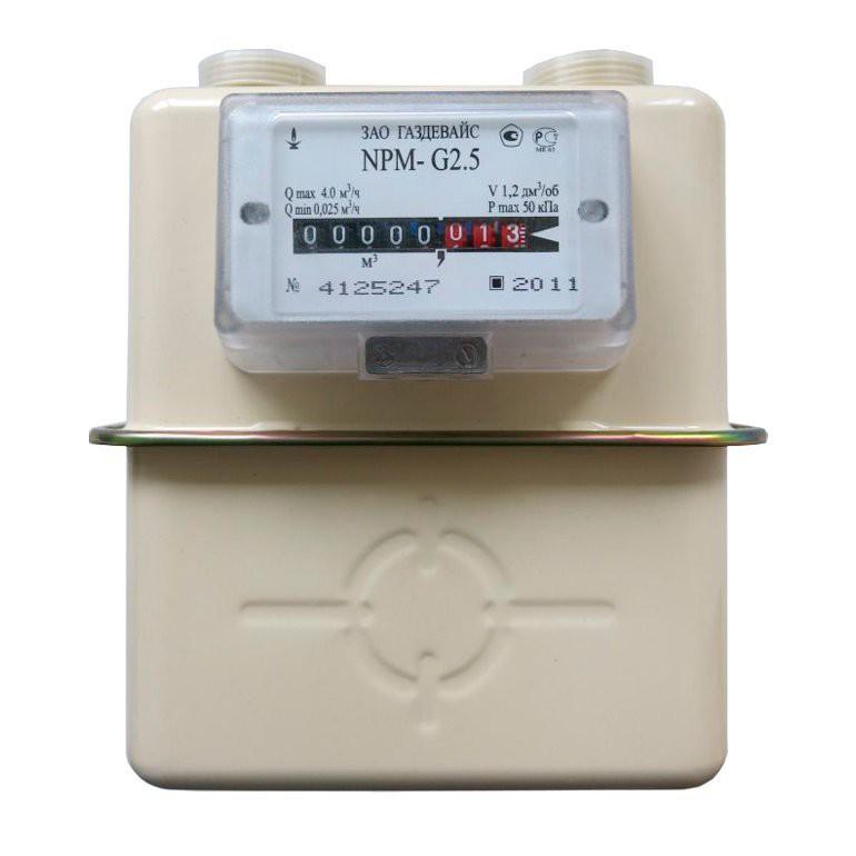 Счетчик газа NPM-G2,5 правый