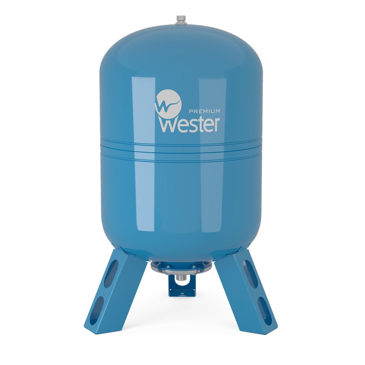 Бак мембранный для водоснабжения Wester Premium WDV 35 нерж. контрфланец