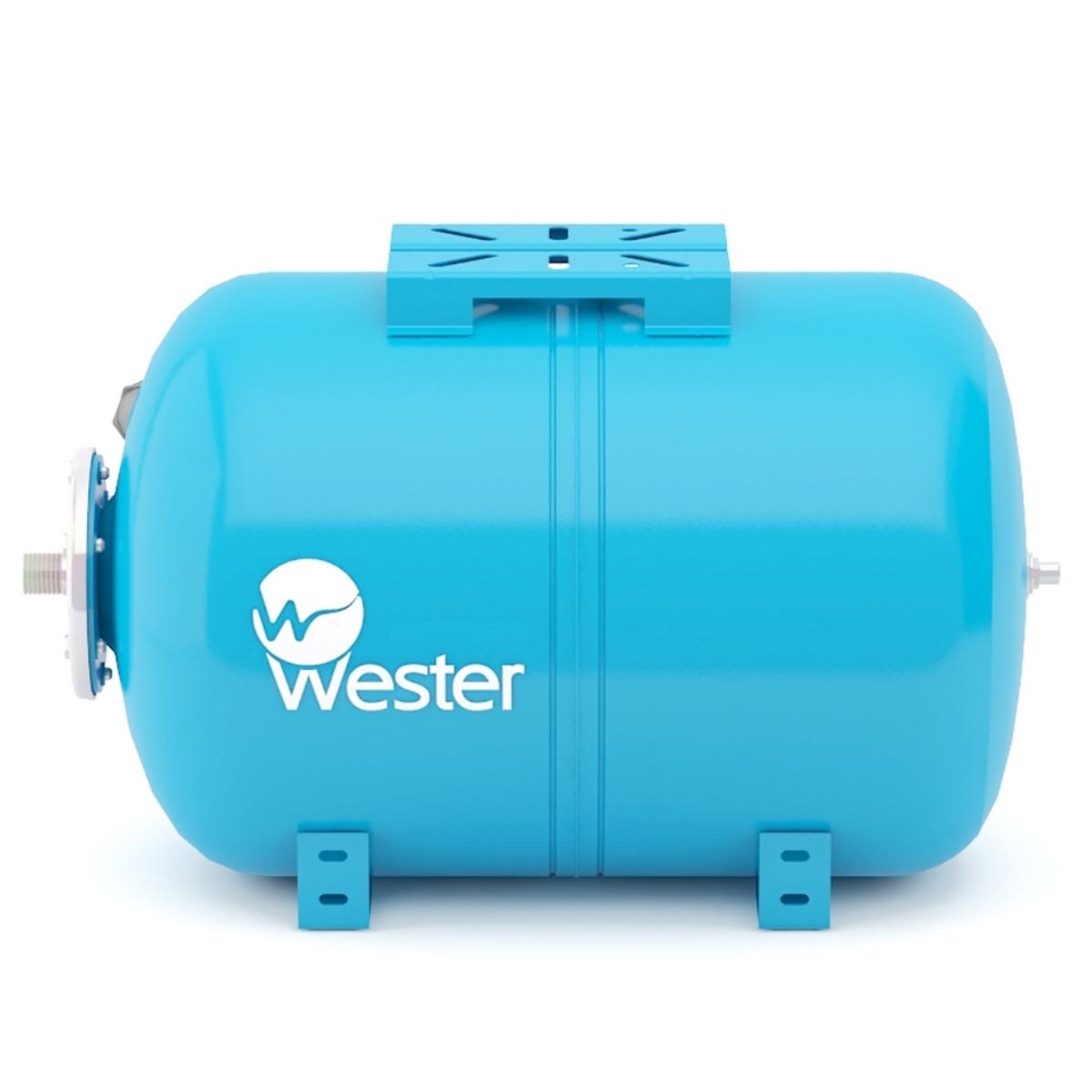Бак мембранный для водоснабжения горизонт-ный Wester WAO150