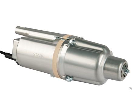 Вибрационный погружной насос Ручеек-1M, кабель 15м нижний забор воды