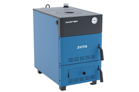 Котел твердотопливный Zota Master 20 кВт (без плиты)