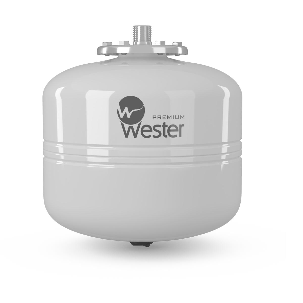 Бак мембранный для гвс и гелиосистем WESTER PREMIUM WDV 12_нерж
